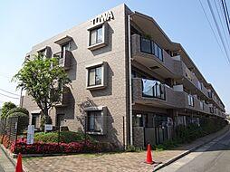 千葉県千葉市花見川区朝日ケ丘3丁目の賃貸マンションの外観