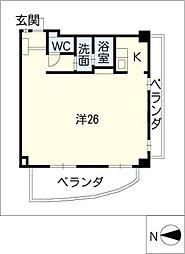 ナビシティ徳川I 302号[3階]の間取り
