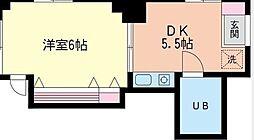 神奈川県横浜市西区伊勢町1丁目の賃貸マンションの間取り