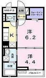 Glanz Sakura[202号室]の間取り