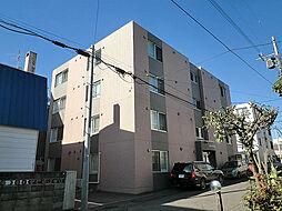 北海道札幌市東区北十条東10丁目の賃貸マンションの外観