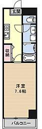 ルネッサンス・ドゥ[506号室号室]の間取り