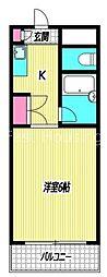[テラスハウス] 東京都杉並区高円寺北3丁目 の賃貸【/】の間取り