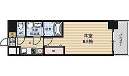 サムティ江戸堀ASUNT[8階]の間取り