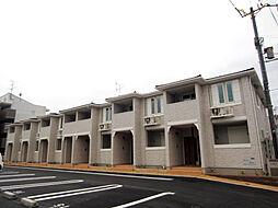 大阪府岸和田市下松町2丁目の賃貸アパートの外観
