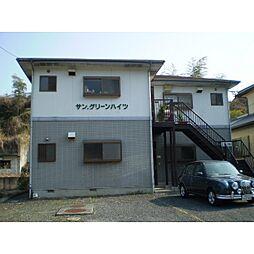 静岡県静岡市清水区有東坂の賃貸アパートの外観