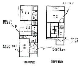 Osaka Metro谷町線 喜連瓜破駅 徒歩13分 3DKの間取り