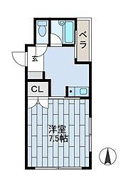 和宏ビル[4階]の間取り
