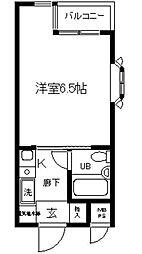 日神パレス戸塚(ニッシンパレストツカ)[2階]の間取り