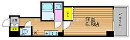 JR山陽本線 岡山駅 徒歩5分の賃貸マンション 5階1Kの間取り
