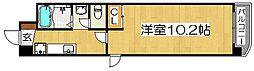 ディモア増田[2階]の間取り