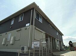 千葉県野田市堤台の賃貸アパートの外観