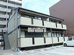ハイムAKI[1階]の外観