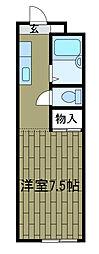 シオンN[2階]の間取り