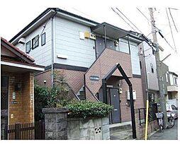 神奈川県横浜市港北区大倉山5丁目の賃貸アパートの外観