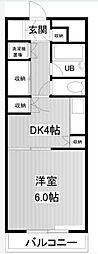 メゾンベルセーヌ[2階]の間取り