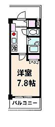 メゾン土呂第3[206号室]の間取り