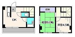 メゾン高[3階]の間取り