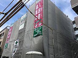 東京都大田区久が原5丁目の賃貸マンションの外観