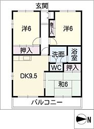 増田ビル南3号館[2階]の間取り