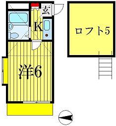ジュネパレス松戸第4[101号室]の間取り