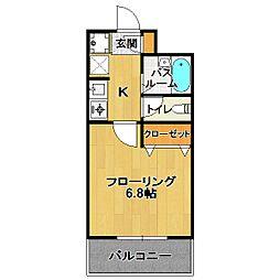 フェスタ・メゾン[3階]の間取り