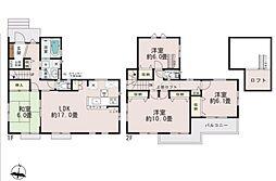 一戸建て(上尾駅から徒歩26分、110.75m²、3,350万円)