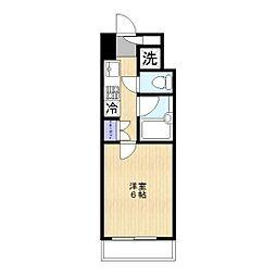 ルーブル狛江[208号室]の間取り