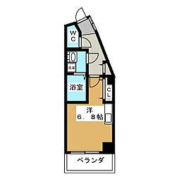 アメイジング桂[6階]の間取り