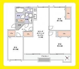 江戸川台小田急ハイツ20号棟 401号室