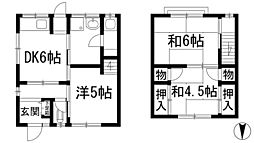 [テラスハウス] 兵庫県川西市久代3丁目 の賃貸【/】の間取り