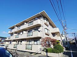 東京都東村山市萩山町3丁目の賃貸マンションの外観