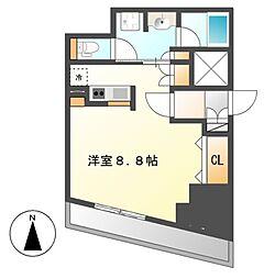 CORNES HOUSE NAGOYA[9階]の間取り