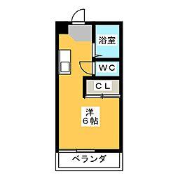スペースタウン鶴田[1階]の間取り