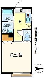 コンフォート・K 205[2階]の間取り