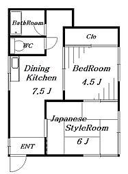 アイビーホール[1階]の間取り