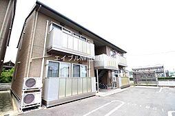 岡山県総社市井尻野丁目なしの賃貸アパートの外観