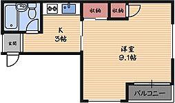 ハイムシンド[2階]の間取り