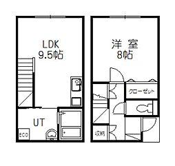 仮)4-23新築MS[108号室]の間取り