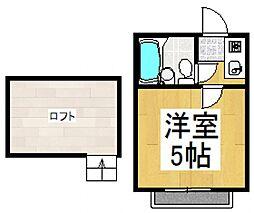 ライフピアファニー[1階]の間取り