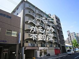 シャトー鶴ケ丘(西田辺 リノベーション)[3階]の外観