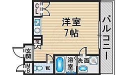 服部天神駅 4.3万円