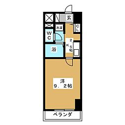 KC21ビル[5階]の間取り