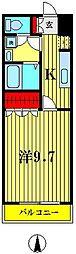 メープルガーデン22[206号室]の間取り