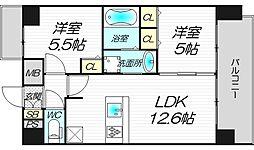 エスライズ新大阪フロント[11階]の間取り