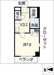 KANEIマンション[6階]の間取り