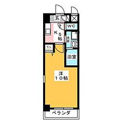 KIAORA (キオーラ)[5階]の間取り