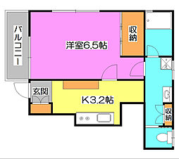 Mi Casa[1階]の間取り