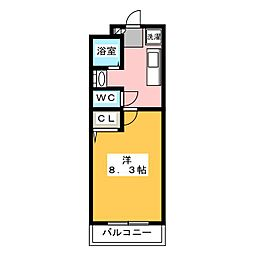 グランストークボナール[3階]の間取り
