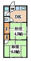蔵前町文化E棟[2階]の間取り